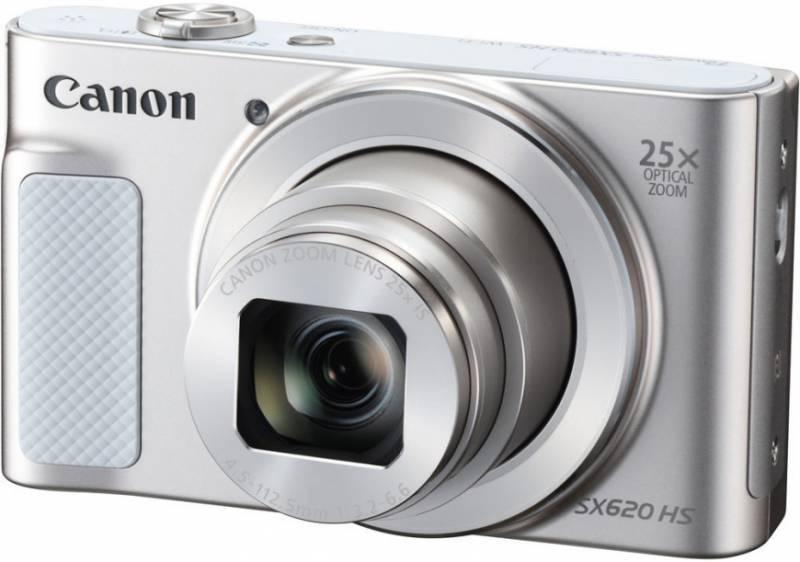 цена на Фотоаппарат Canon PowerShot SX620 HS (1074C002) Silver 20.2 Mp, 1/2.3 / max 5184 x 3888 / 25x zoom / экран 3.0 / 0,182 г