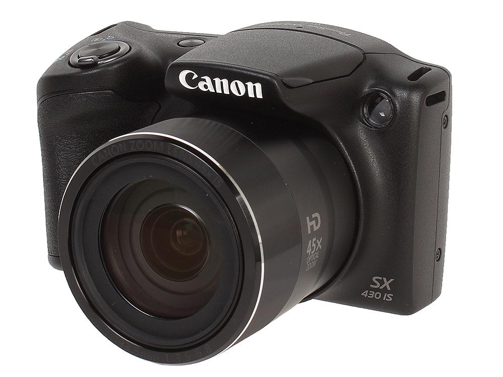 Фотоаппарат Canon PowerShot SX430 IS Black фотоаппарат canon powershot g9 x mark ii black