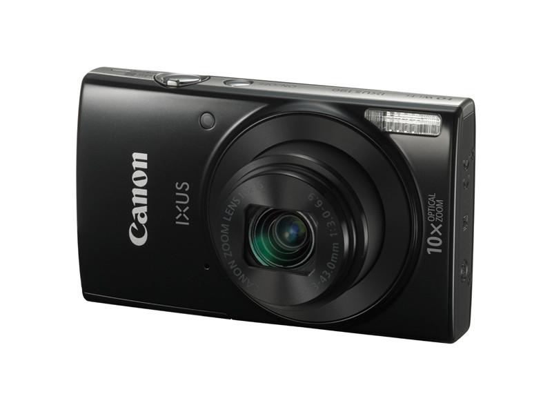 Фотоаппарат Canon Ixus 190 20Mp 10xZoom черный 1794C001 1794C001