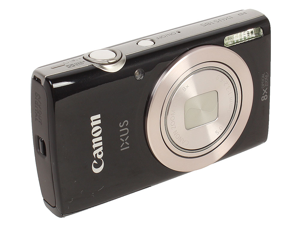 Фотоаппарат Canon IXUS 185 Black 20Mp, 8x Zoom, 2.7 SD чехол canon dcc 1370 для серии ixus