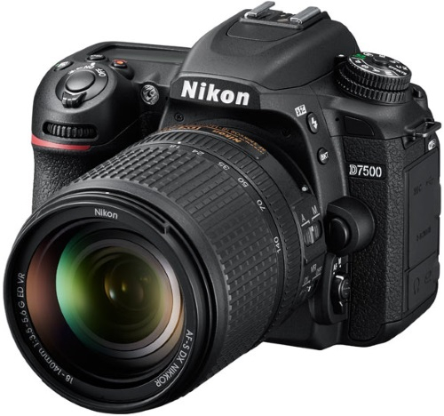 Зеркальный фотоаппарат Nikon D7500 KIT (VBA510K002) Black 21.51 Mp, 23.5 x 15.7 мм / max 5568 x 3712 / экран 3.2 / 0,72 г фотоаппарат nikon coolpix w300 vqa070e1 black 16 mp 1 2 3 max 4608 x 3456 5x zoom экран 3 0 0 231 г