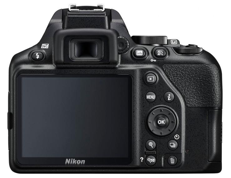 Фотоаппарат Nikon D3500 Black KIT 18-140mm P VR 24,7Mp, 3 LCD 24.7 Mp, CMOS / max 6000x4000 / Bluetooth / экран 3 / объектив в комплекте / 415 г зеркальная фотокамера nikon d3500 18 55mm non vr цвет черный