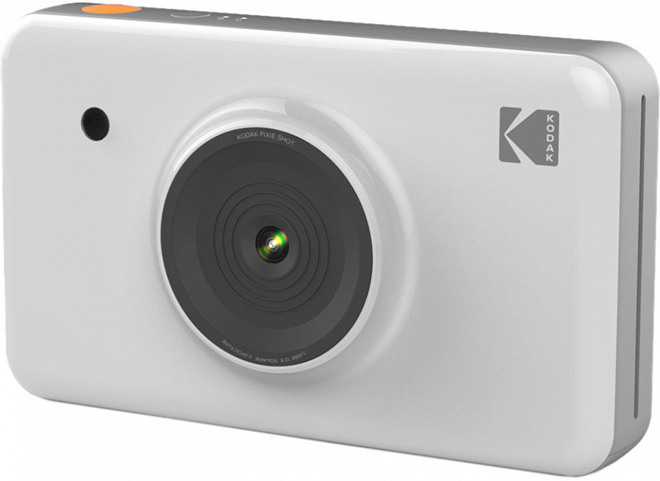 Моментальная фотокамера Kodak Mini Shot, белая телефон kodak