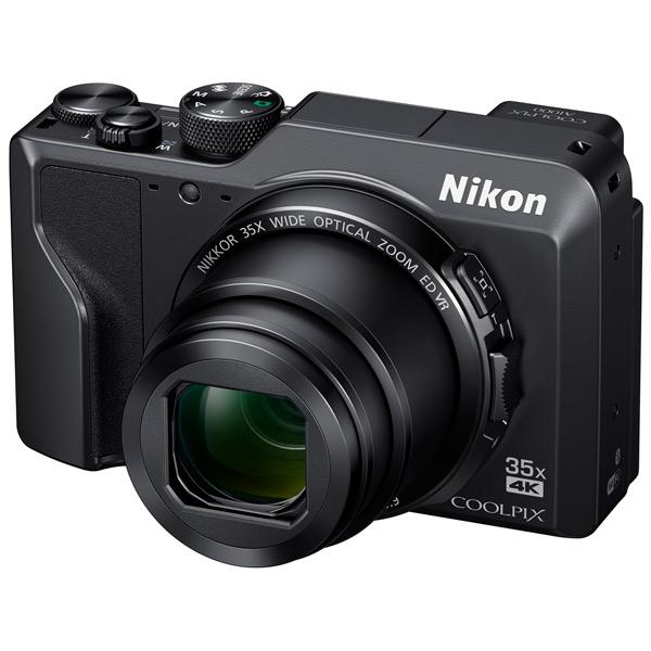 цена на Фотоаппарат Nikon Coolpix A1000 Black 16 Mp, 1/2.3 / max 4608х3456 / 35x zoom / Wi-Fi / экран 3 / 330 г