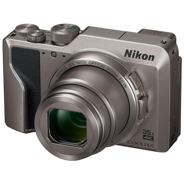 Фотокамера Nikon Coolpix A1000 Silver 16 Mp, 1/2.3 / 4608х3456 35x zoom экран 3.0 0,33 г