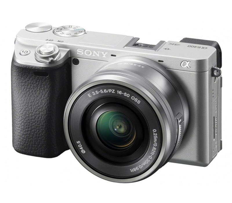 Фотоаппарат SONY ILCE-6400LS ILCE6400LS.CEC Silver 24.2 Mp, APS-C / max 6000x4000 / Bluetooth / Wi-Fi / экран 3