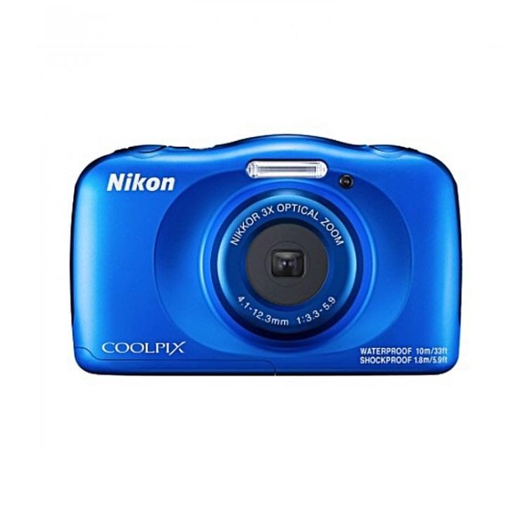 лучшая цена Фотоаппарат Nikon Coolpix W150 Blue Backpack KIT 13.2 Mp, 1/3.1