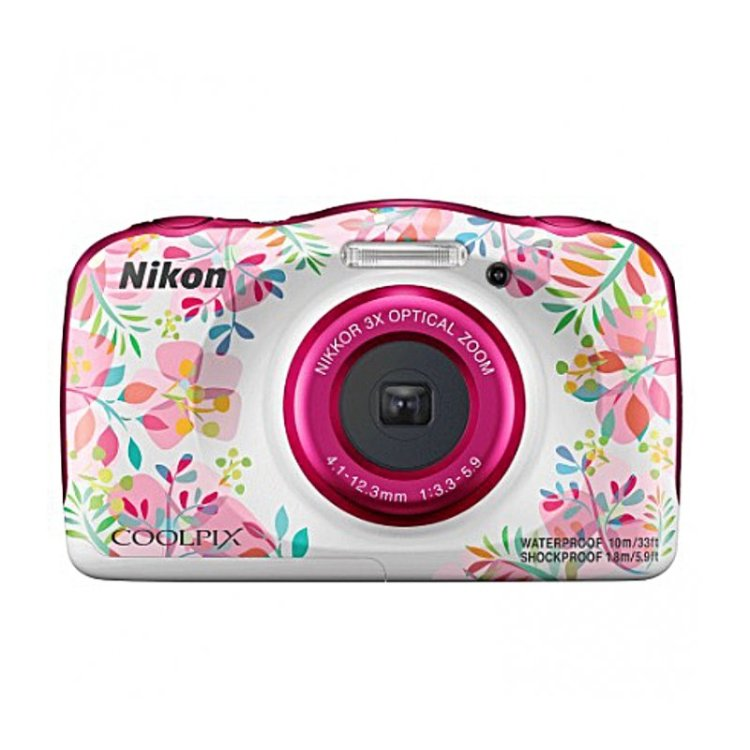 Фотоаппарат Nikon Coolpix W150 Flower Backpack KIT 13.2 Mp, 1/3.1