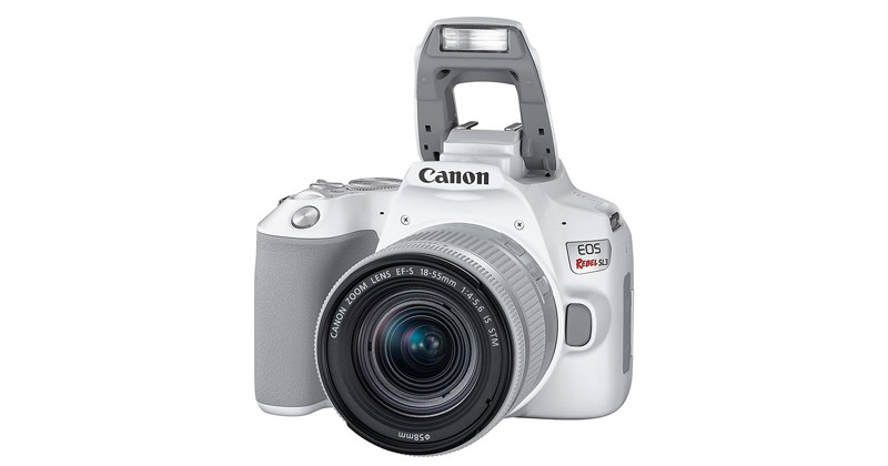 Фотоаппарат Canon EOS 250D KIT White зеркальный, 24.1Mp, EF18-55 IS STM, 3, 4K, WiFi, ISO25600, SDHC/XC