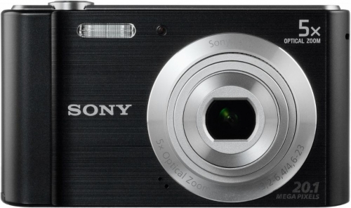 Фото - Фотоаппарат Sony DSC-W800B (DSCW800B.RU3) Black 20.1 Mp, 1/2.3 / 5152 x 3864 / 5x zoom / экран 2.7 / 109 г фотоаппарат