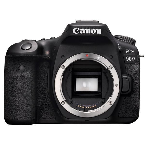 Фотоаппарат Canon EOS 90D Body (3616C003) Black 32,5 Mp, 22.3 х 14.8 мм / 6960 x 4640 / экран 3.0 / 701 г