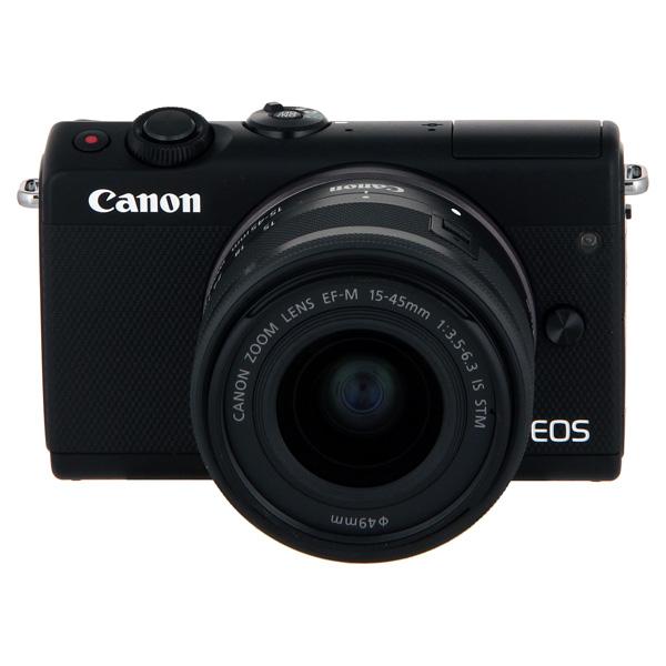 Фотоаппарат Canon EOS-M100 Kit 15-45 IS STM (2209C012) Black 24.2 Mp, 22.3 х 14.9 мм / 6000 x 4000 / экран 3.0 / 302 г