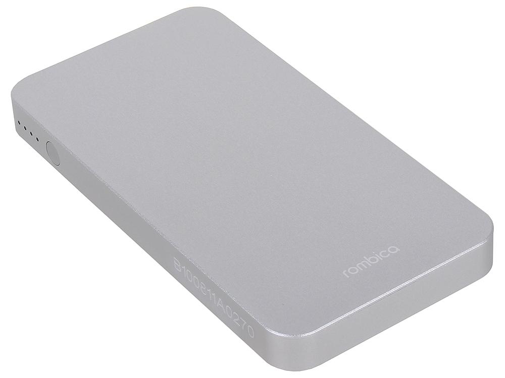 Внешний аккумулятор ROMBICA NEO MA50 5000 мАч/5.0В/18,5 Втч/Нагрузка max 2.1А/1хUSB цены