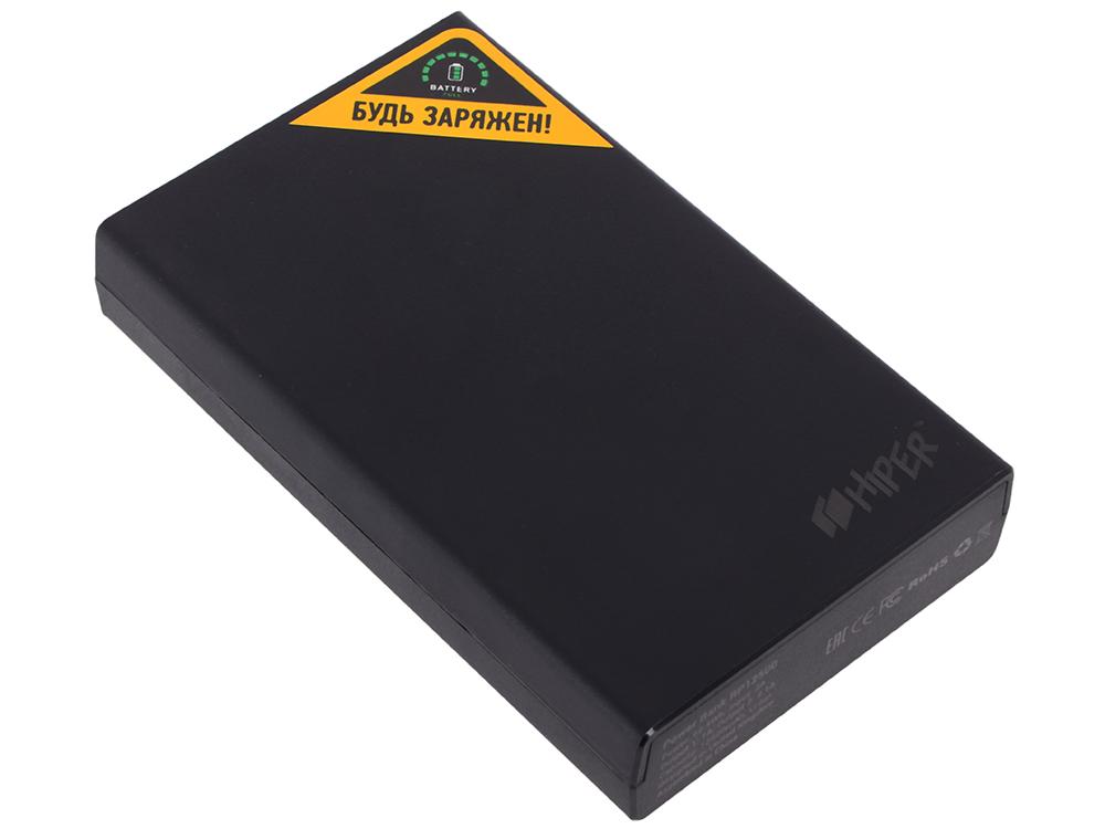 Внешний аккумулятор Hiper RP12500 Black, 12500mAh, 2xUSB 2.1A, Li-Ion, индикатор заряда n53sv motherboard gt540m 4 ram rev 2 2 2 0 for asus n53s n53sv n53sn n53sm laptop motherboard n53sv mainboard hm65 motherboard