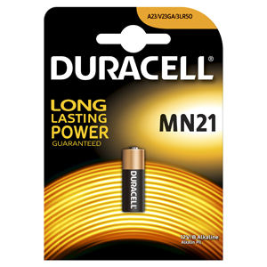 Батарейки DURACELL MN21 B1 Security 12V Alcaline b1