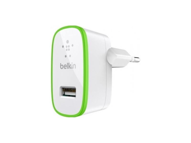 Сетевое зарядное устройство Belkin F8J052CWWHT 2.1A USB белый цена и фото