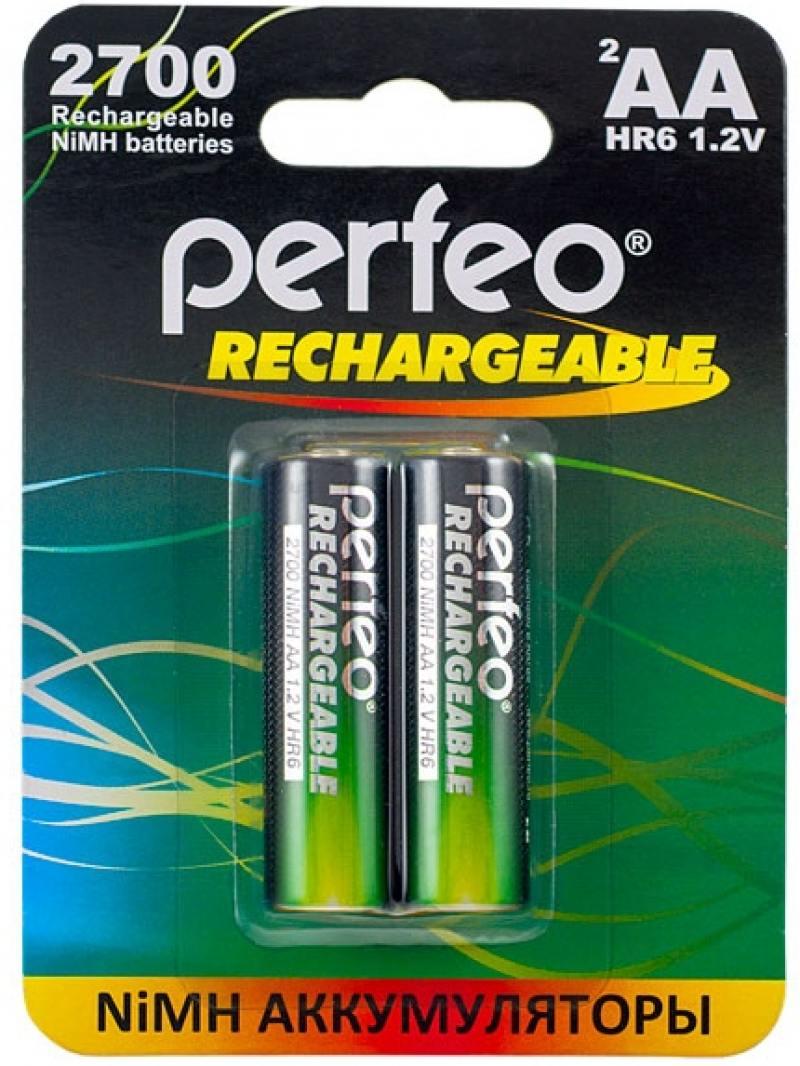 Аккумуляторы 2700 mAh Perfeo AA2700/2BL AA 2 шт