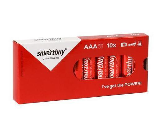 Батарейки Smartbuy SBBA-3A10BX AAA 10 шт