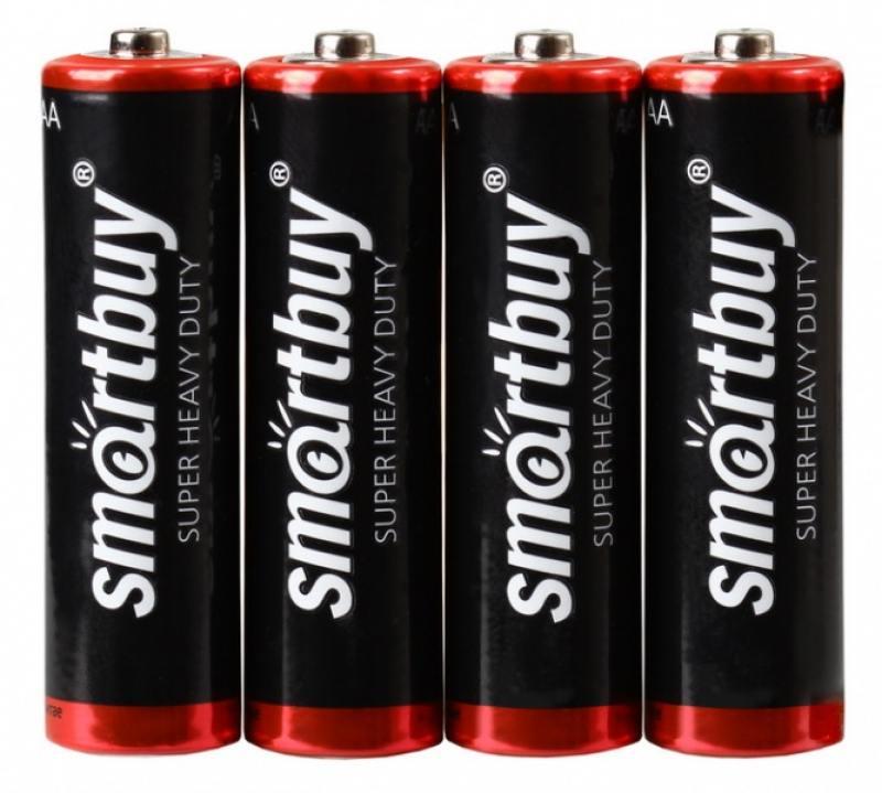 Батарейки Smartbuy SBBZ-2A04S AA 4 шт цена и фото
