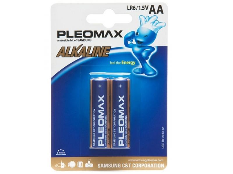 Батарейки Samsung Pleomax LR6-2BL AA 2 шт цена и фото