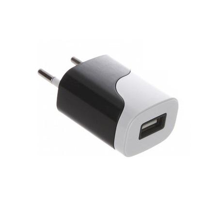 Сетевое зарядное устройство Continent ZN10-194BK 1A USB черный автомобильное зарядное устройство borasco 1 usb 1a дата кабель type c 1м черный