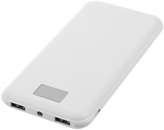 Портативное зарядное устройство Continent PWB80-262WT 8000мАч белый портативное зарядное устройство buro ra 8000 8000мач черный