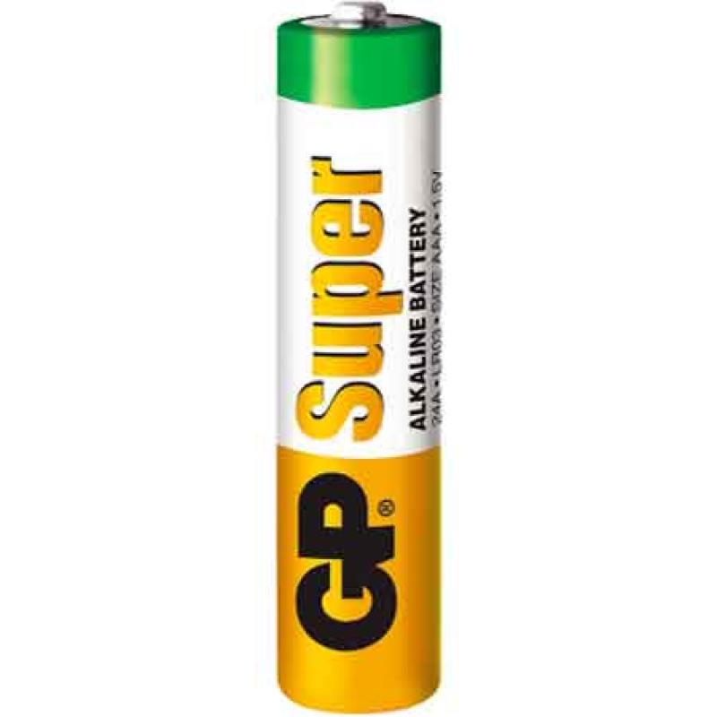 Батарейки GP Super Alkaline 24A LR03 AAA AAA 30 шт