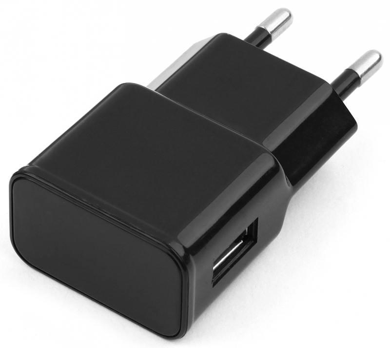 Сетевое зарядное устройство Cablexpert MP3A-PC-10 1A черный сетевое зарядное устройство cablexpert mp3a pc 09 1a usb белый