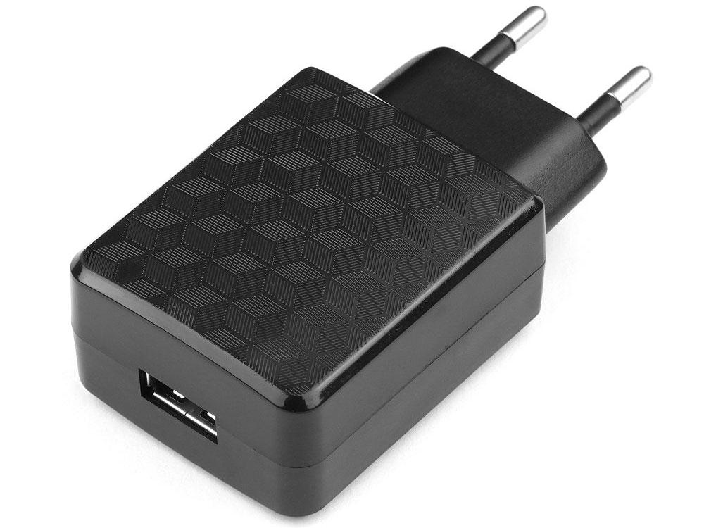 Сетевое зарядное устройство Cablexpert MP3A-PC-04 1A USB черный сетевое зарядное устройство prime line 2310 usb 2 1a черный