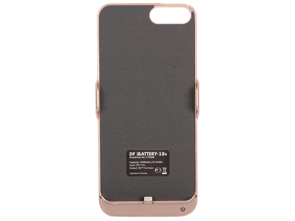 Фото - Аккумулятор-чехол для iPhone 6 Plus/6s Plus/7 Plus DF iBattery-18s (gold) чехол