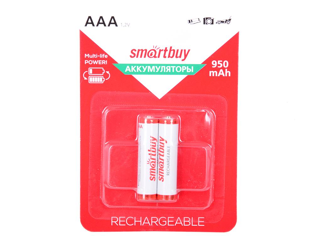 Аккумулятор Smartbuy SBBR-3A02BL950 AAA 2 шт smartbuy 335ag синий