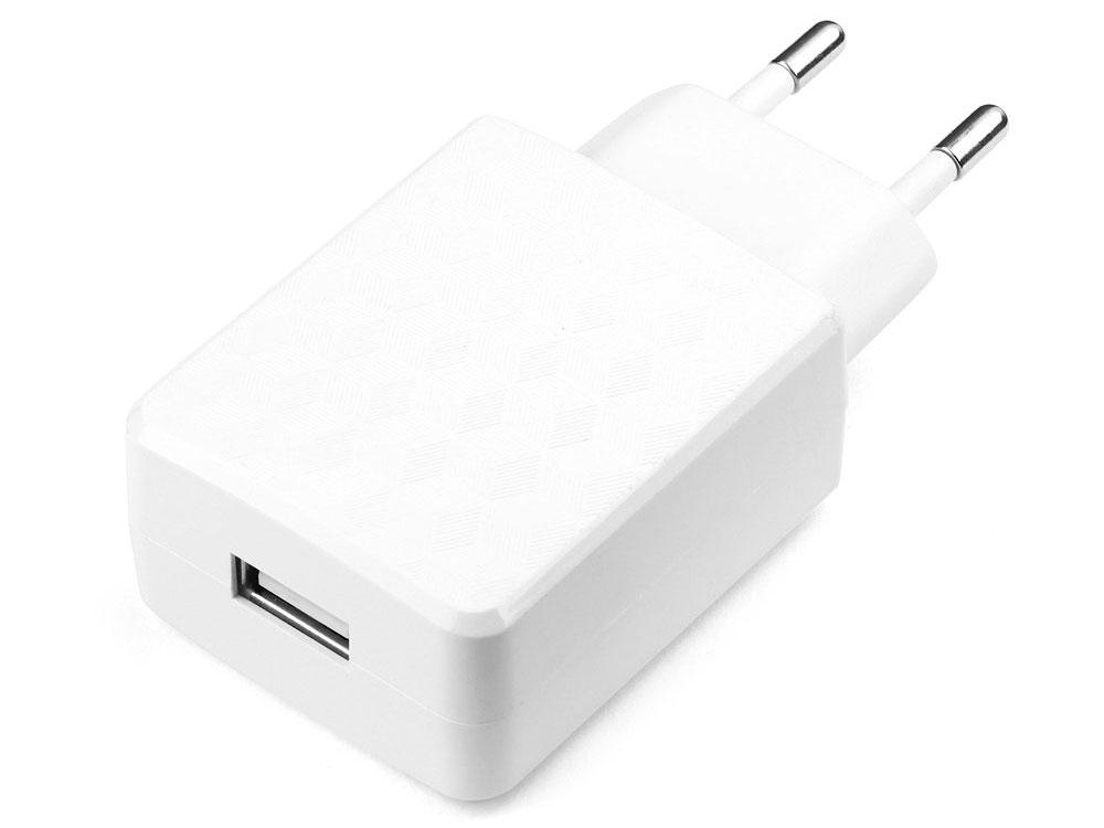 Сетевое зарядное устройство Cablexpert MP3A-PC-03 1A USB белый сетевое зарядное устройство qumo energy 2xusb 2 1a со съемным кабелем micro usb черное