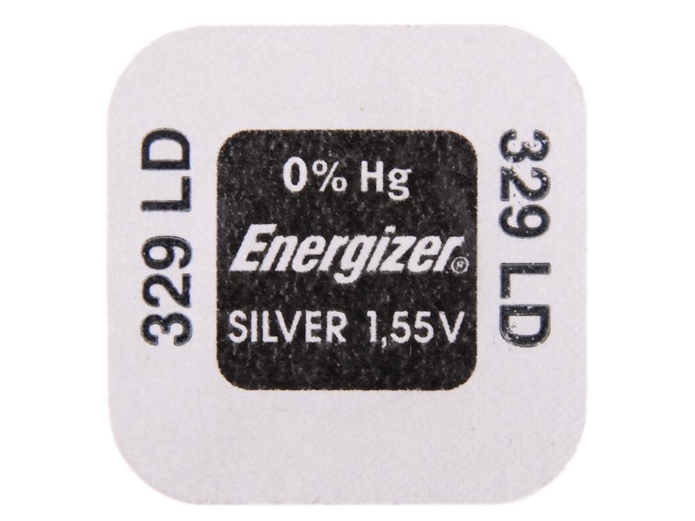Батарейки Energizer Silver Oxide 329 1шт. (635318/E1093401) батарейки sony 389 sr1130n pb 1шт