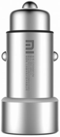 Автомобильное зарядное устройство Xiaomi Mi Car Charger USB Silver ubear dual usb metal car charger black автомобильное зарядное устройство