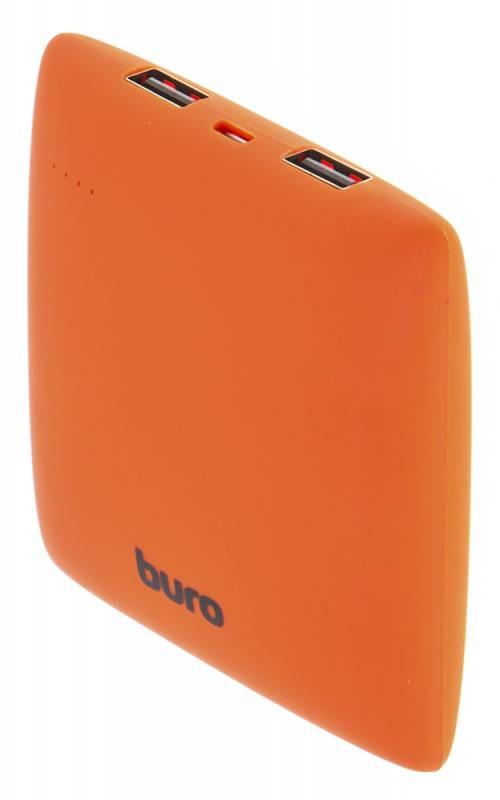 Портативное зарядное устройство Buro RA-7500PL-OR Pillow 7500мАч оранжевый цена