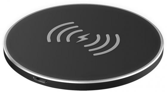 Фото - Беспроводное зарядное устройство Partner Olmio Quick Charge 10W microUSB черный ПР038528 зарядное