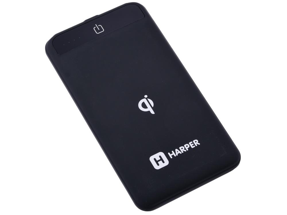 лучшая цена Внешний аккумулятор HARPER WPB-008 black 8 000 mAh