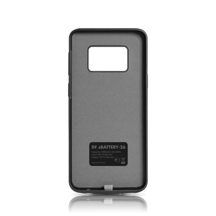 Фото - Аккумулятор-чехол для Samsung Galaxy S9 Plus DF sBattery-26 (black) 6000 мАч+USB выход чехол