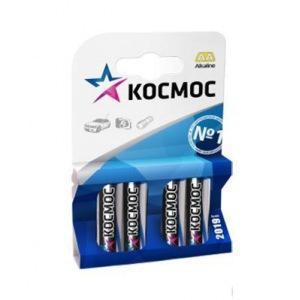 Батарейка КОСМОС KOCLR64BL LR LR6 BP-4 (цена за блистер-4шт.)