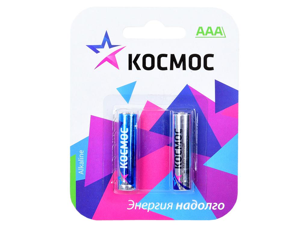 Батарейка КОСМОС KOCLR032BL LR LR03 BP-2 (блист.2шт.) батарейка космос koc20165bl cr cr2016 5хbl блист 5шт