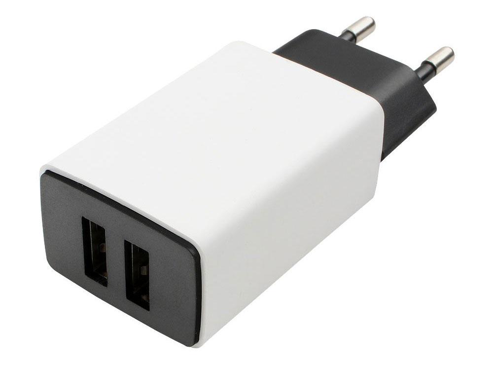 Сетевое зарядное устройство Cablexpert MP3A-PC-15 2.1A USB белый сетевое зарядное устройство cablexpert mp3a pc 09 1a usb белый
