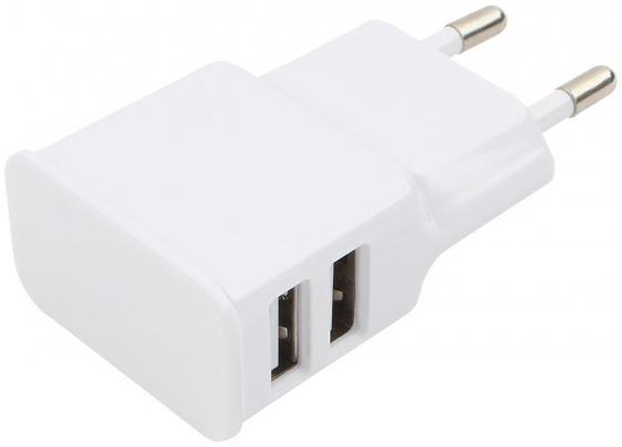 Сетевое зарядное устройство Cablexpert MP3A-PC-11 2.1A белый