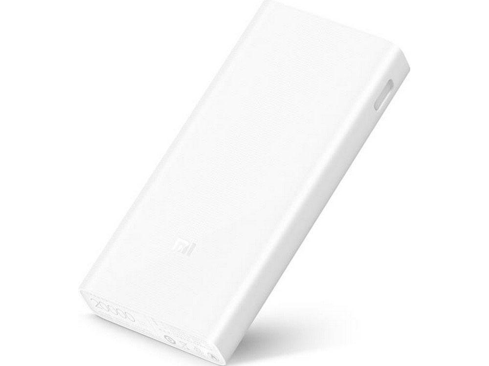 Внешний аккумулятор Xiaomi Mi Power Bank 2C 20000mAh PLM06ZM внешний аккумулятор xiaomi mi 2с plm06zm белый
