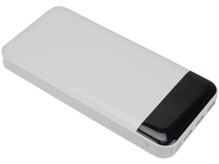Continent PWB200-971WT Аккумулятор внешний портативный, 20000mAh,Quick Charge 3.0, белый цена