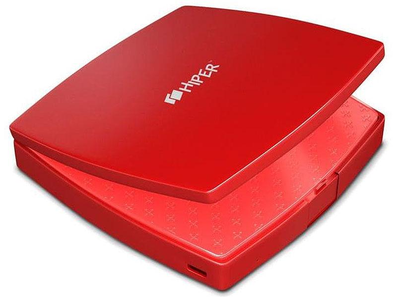 лучшая цена Аккумулятор HIPER Внешний аккумулятор HIPER MIRROR-4000 RED
