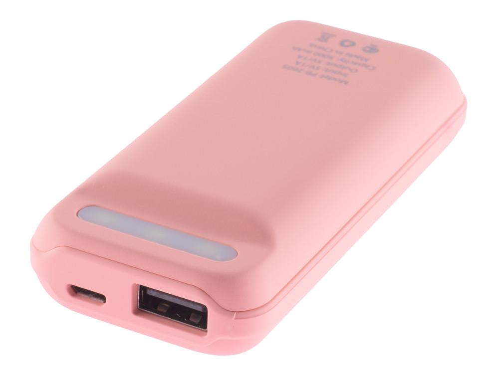 Внешний аккумулятор HARPER PB-2605 Сoral 5000mAh, индикатор уровня заряда аккумулятор aukey aipower pb n41 5000mah llts104372