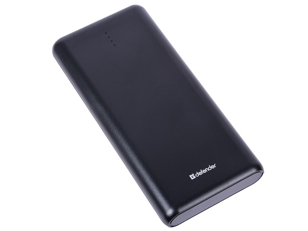 лучшая цена Внешний аккумулятор Defender Lavita 16000B 2 USB, 16000 mAh, 2.1A