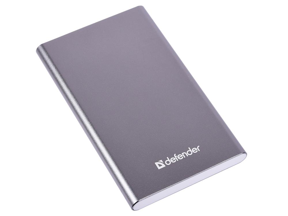лучшая цена Внешний аккумулятор Defender ExtraLife 4000B Li-pol, 1 USB, 4000 mAh, 2.1A