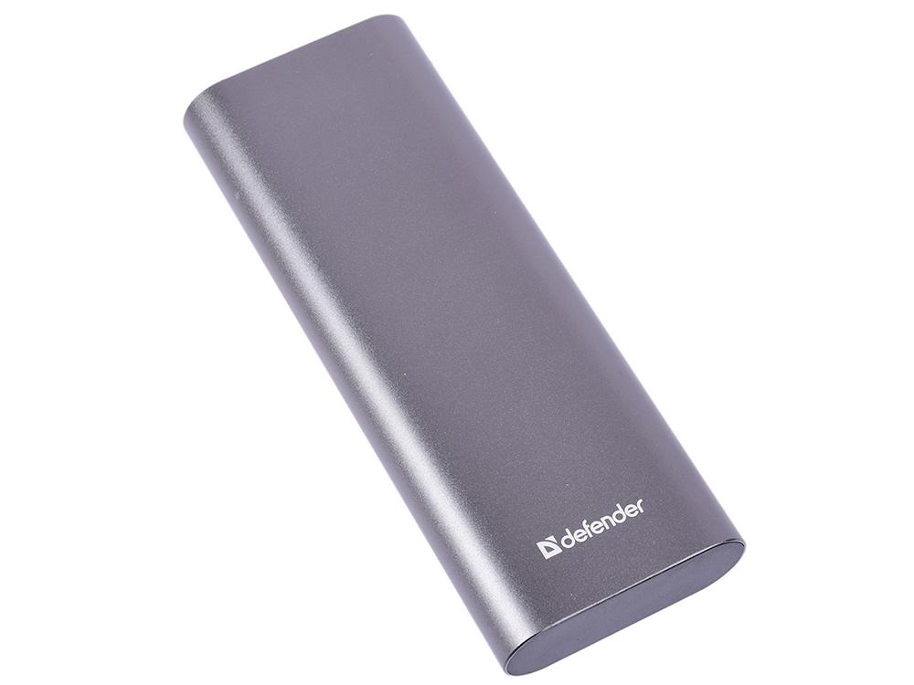 купить Внешний аккумулятор Defender Lavita Fast 12000B 2xUSB+1xType-C, 12000 mAh, 3A онлайн