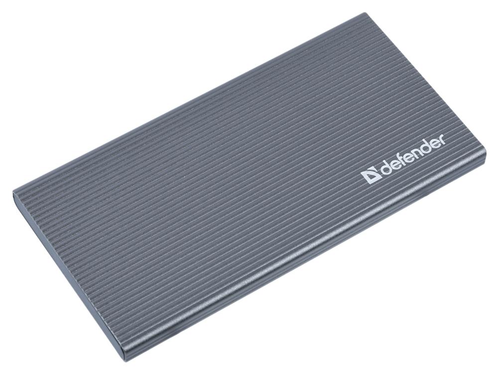 Внешний аккумулятор Defender ExtraLife Fast 5000B Li-pol,2USB+1Type-C,5000mAh,3A цена и фото